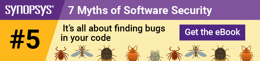 Software security myth 5: It's all about finding bugs in your code