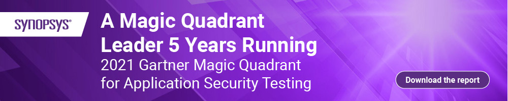 Gartner Magic Quadrant Application Security Testing | Synopsys