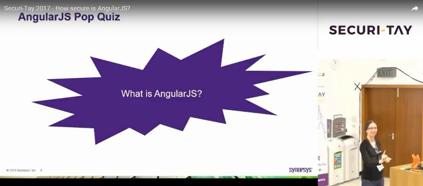 How secure is AngularJS?
