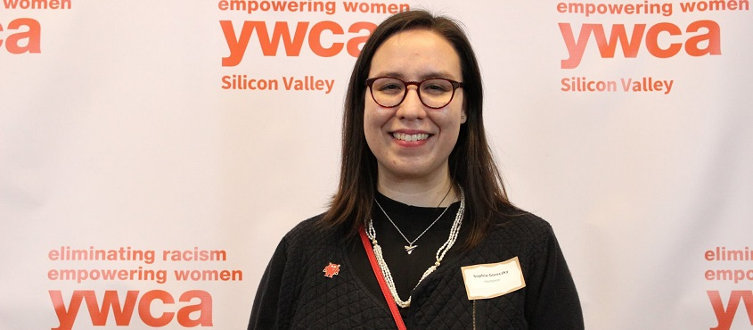 Sophia Goreczky is the recipient of the 2017 YWCA Emerging Leader Award