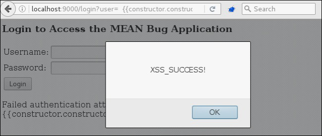 Angular expression injection used to execute XSS