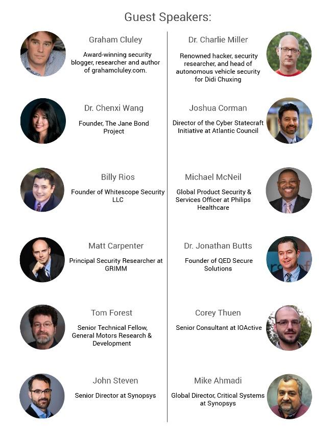 codenomi-con USA 2017 speakers