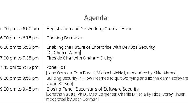 codenomi-con USA 2017 agenda