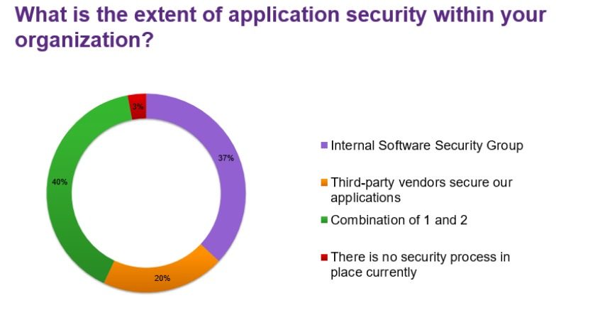 What is the extent of application security within your organization?