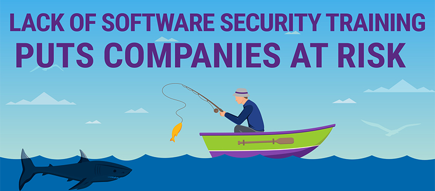 A lack of software security training puts companies at risk