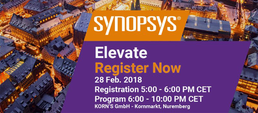 Maximize your Embedded World 2018 experience with Elevate
