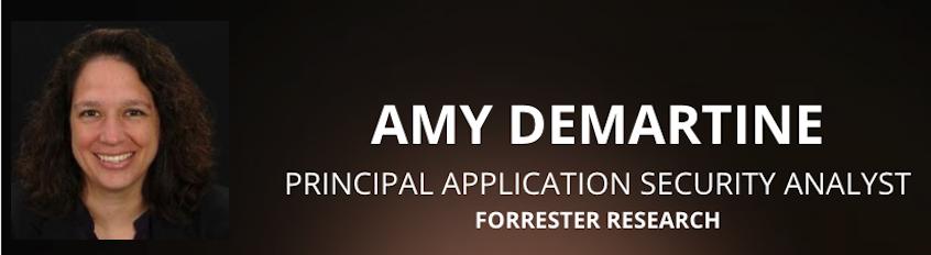 Amy DeMartine at codenomi-con USA 2018