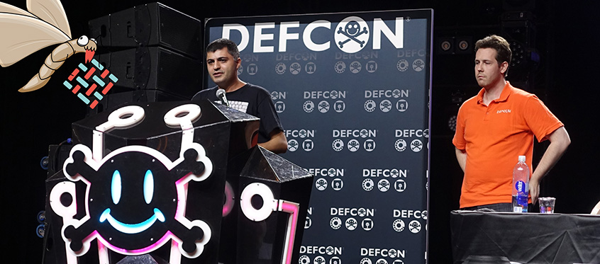 Parsia Hakimian and Stark Riedesel presented Tineola at DEF CON 26