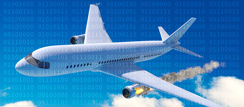 Hard questions raised when a software 'glitch' takes down an airliner