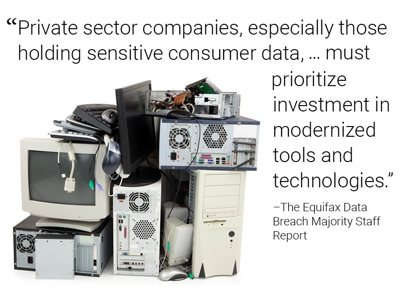 """Private sector companies, especially those holding sensitive consumer data, … must prioritize investment in modernized tools and technologies."""