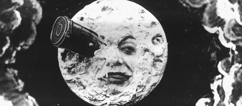 Still from the Georges Méliès film Le Voyage dans la Lune (A Trip to the Moon)