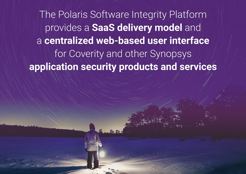 The Polaris Software Integrity Platform™ provides a SaaS delivery model and a centralized web-based user interface for Coverity and other Synopsys application security products and services.