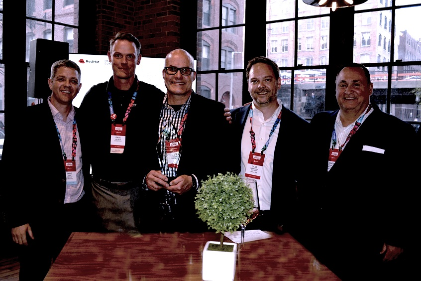 Synopsys and Red Hat team members at Red Hat Summit 2019