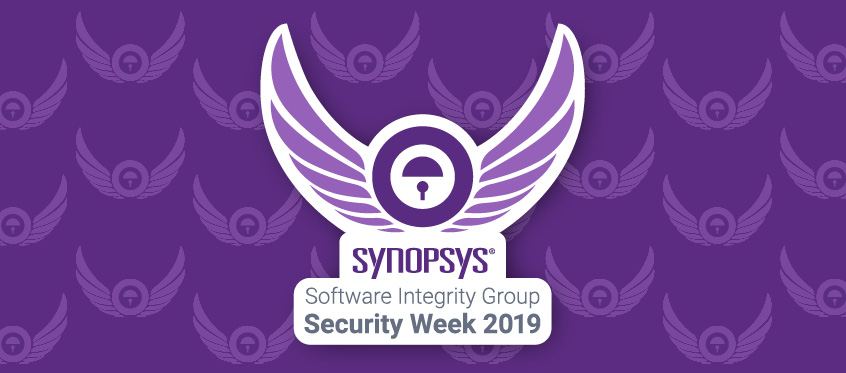 Synopsys Software Integrity Group Security Week 2019
