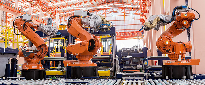 Even industrial machines are connected now