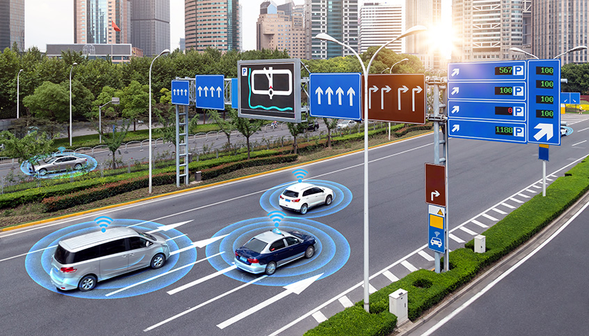 Connected use cases include massive machine-to-machine communications such as vehicle-to-vehicle, smart cities, and smart traffic