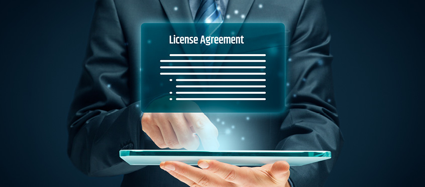 What are the different types of software licenses?