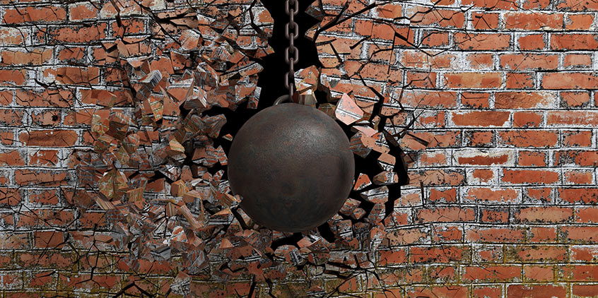If development builds a wall, software security testers try to knock it down.