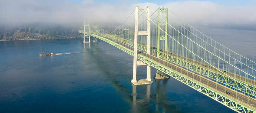 A design flaw brought down the Tacoma Narrows Bridge in 1940