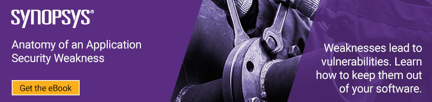 Appsec weaknesses | Synopsys
