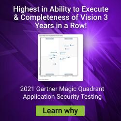 2021 Gartner MQ for AST