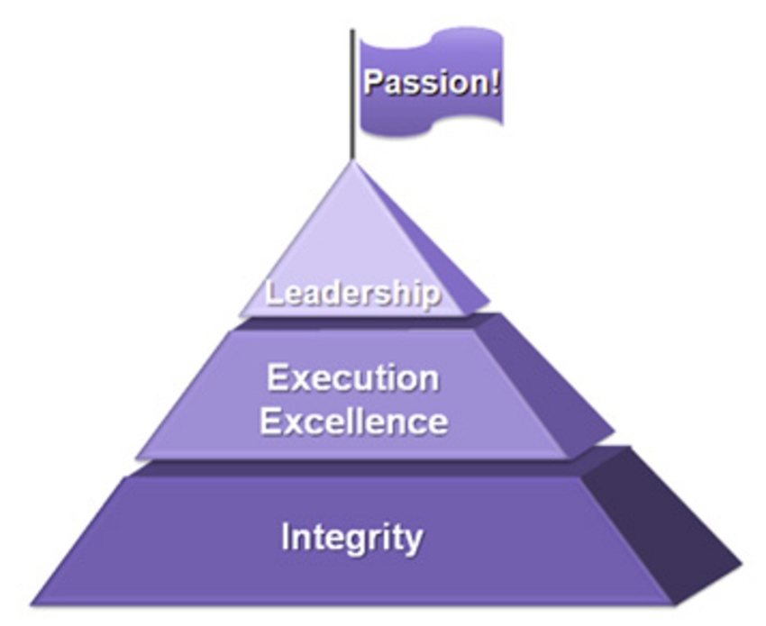 Synopsys Values Pyramid