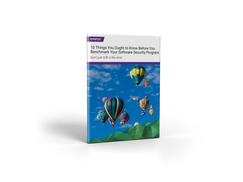 Software security program benchmark eBook | Synopsys