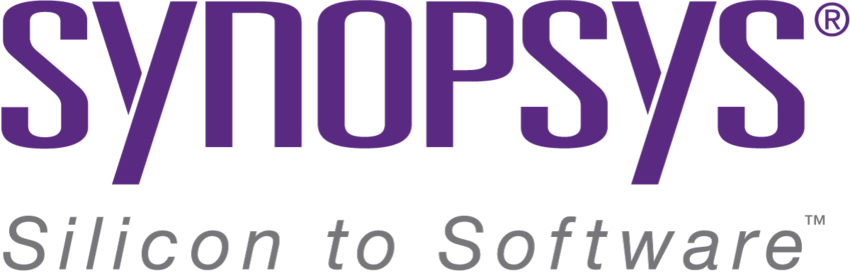 purple synopsys logo example