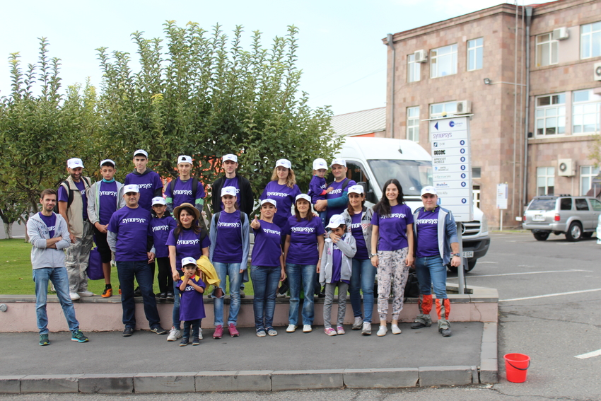 preparation work in Ashtarak City