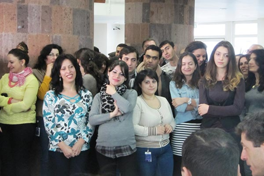 85 Synopsys Armenia Employees Win Laptops