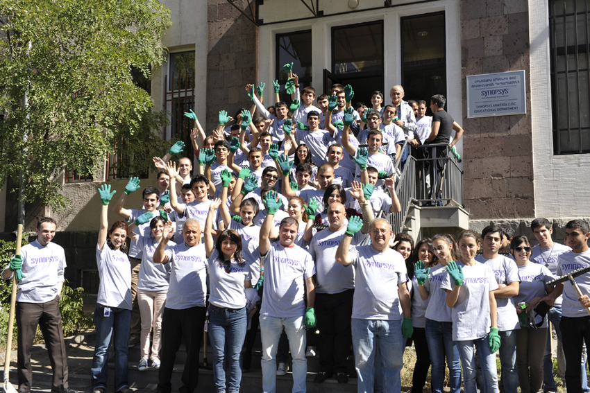 Clean-up initiative in Armenia