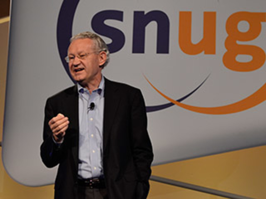 "Each day kicked off with a visionary keynote. On Monday, Dr. Aart de Geus, Synopsys Chairman and co-CEO presented ""Massive Innovation and Collaboration into the 'GigaScale' Age!"""