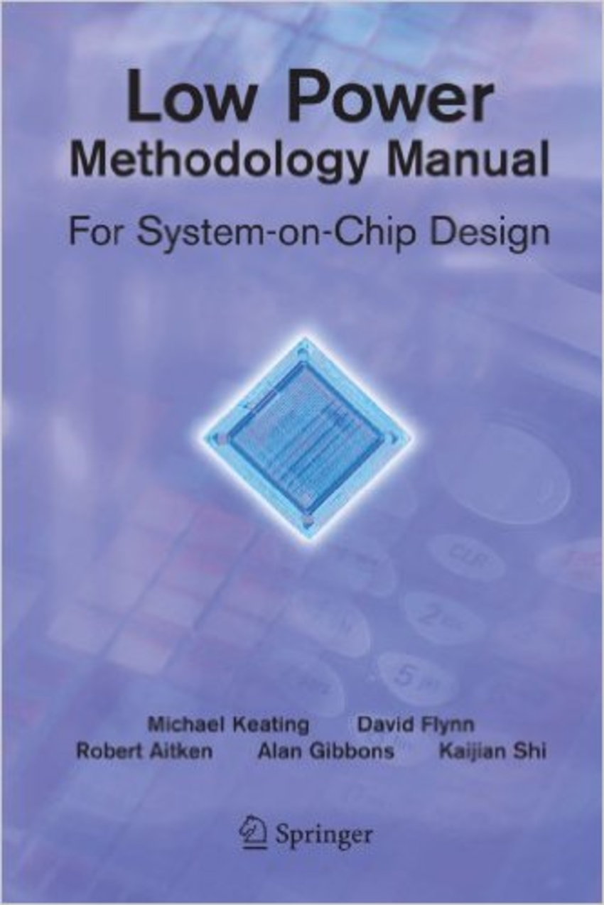Book Cover -  Low Power Methodology Manual