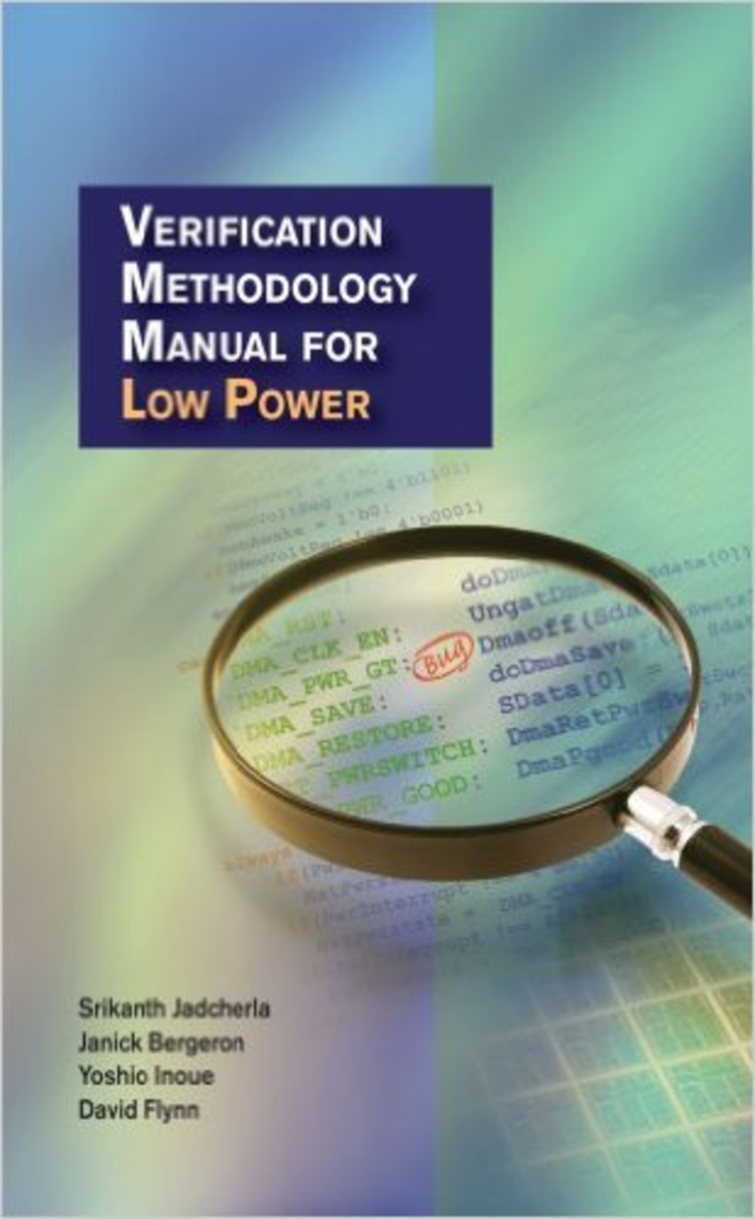 Book Cover - Verification Methodology Manual for Low Power