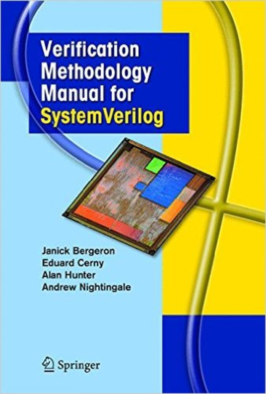 Book Cover - Verification Methodology Manual for SystemVerilog