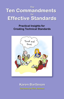 Book Cover - The Ten Commandments for Effective Stanards