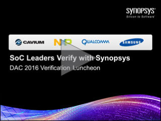 DAC 2016 Verification Lunch Panel Video