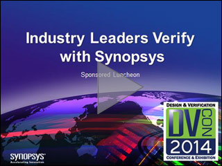 DVCon 2014 Verification Lunch Panel Video