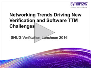 SNUG 2016 Verification Lunch Panel Video