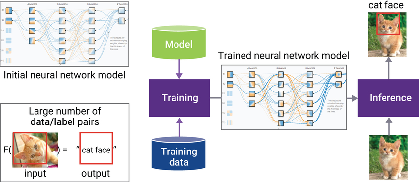 Figure 1: Neural network models in deep learning framework