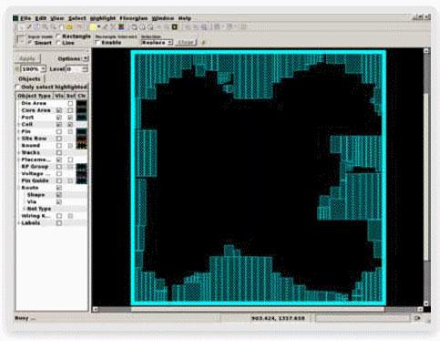 図8: フロアプランの修正をDC Explorerに読み込むことでDC Ultra(Topographical)とのタイミング相関性が向上