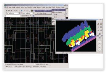 図7: 3D Small-Area Analysis(3D微小領域解析)により回路の故障箇所の特定にかかる時間を短縮