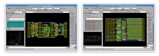 图 1: Laker FPD 电路图导向流程和参考器件的流程设计套件 (PDK)