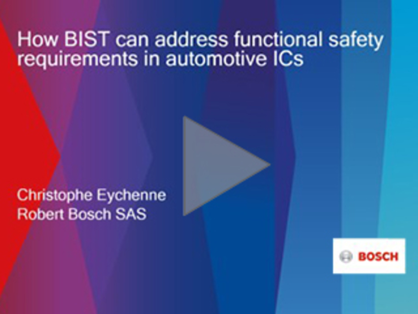 How BIST Can Address Functional Safety Requirements in Automotive ICs