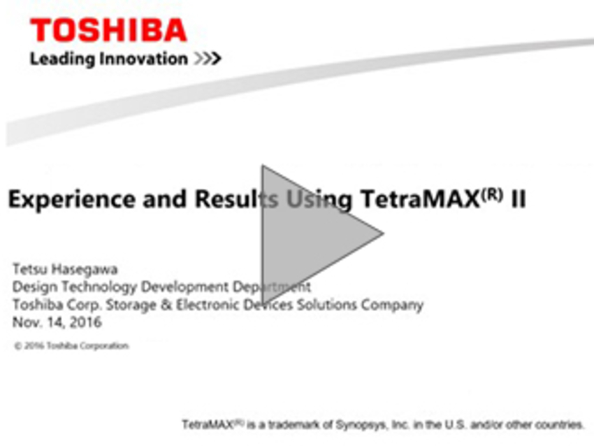 Experience and Results Using TetraMAX II