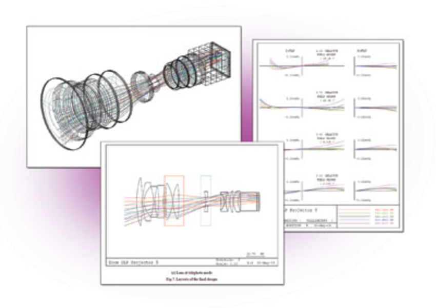 Telecentric zoom lens design for DLP projection