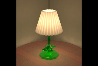 Table Lamp Lit Appearance