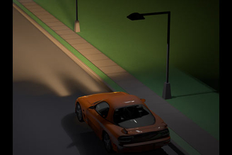 Street Scene Lighting