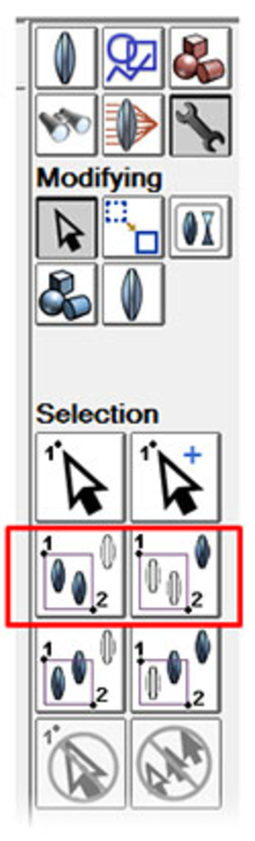 select all objects