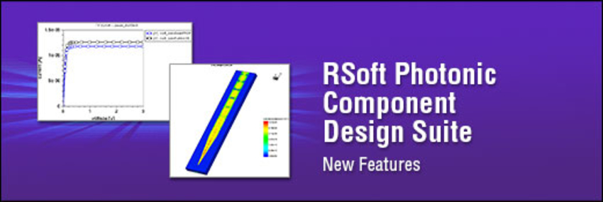RSoft Photonic Component Design Suite
